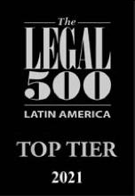 Logo Legal 500 Latam - Grupo Evans